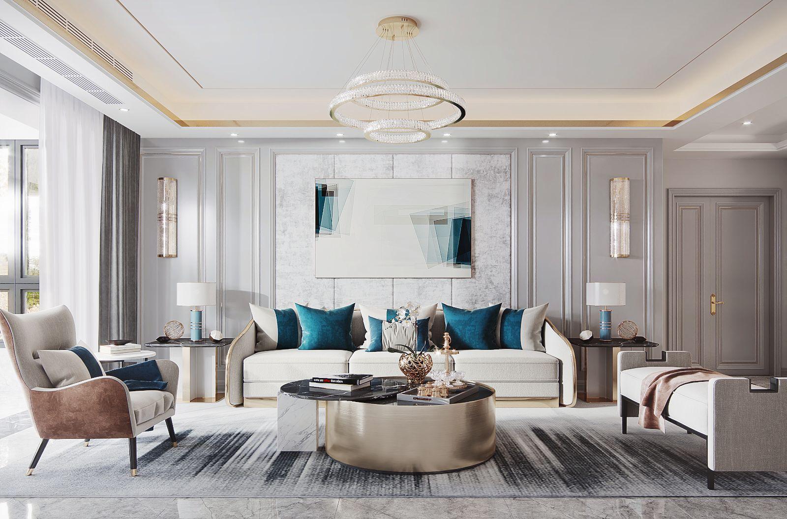 客厅装修,您生活品位的另一面!